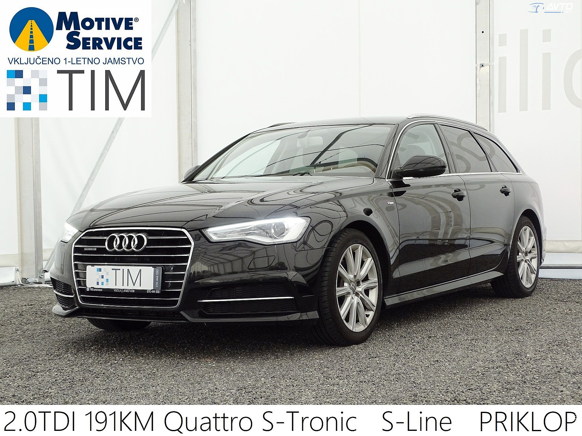 Audi A6 Avant 2.0 TDI Ultra Quattr S-Tronic