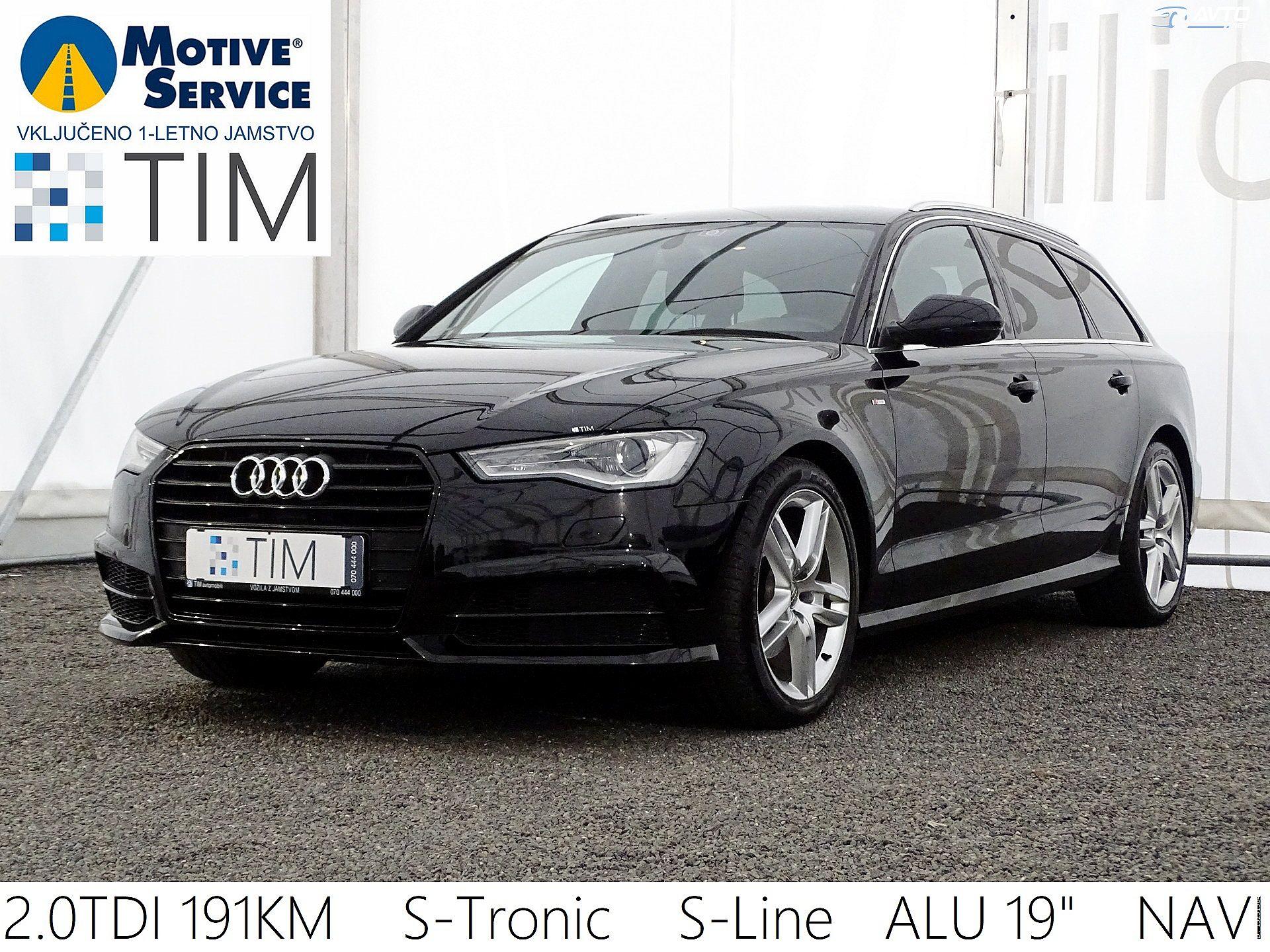 Audi A6 Avant 2.0 TDI Ultra S-Tronic S-LINE